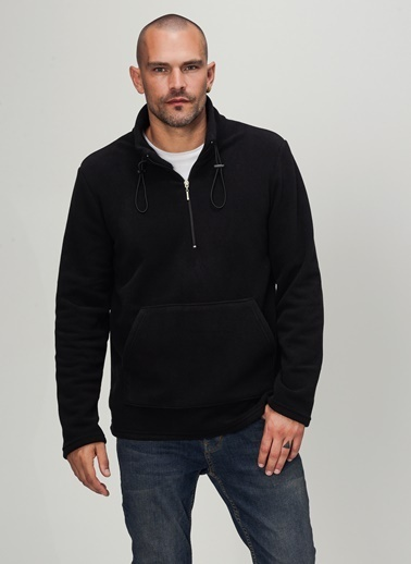 People By Fabrika Sweatshirt Siyah